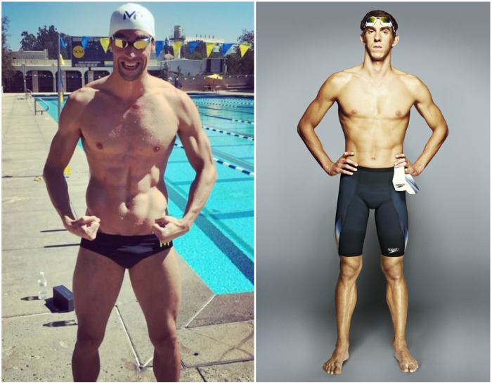 Michael Phelps' height, weight and body measurements