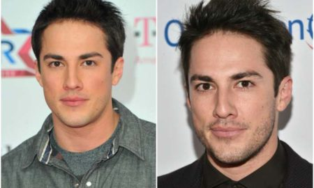 Michael Trevino's eyes and hair color