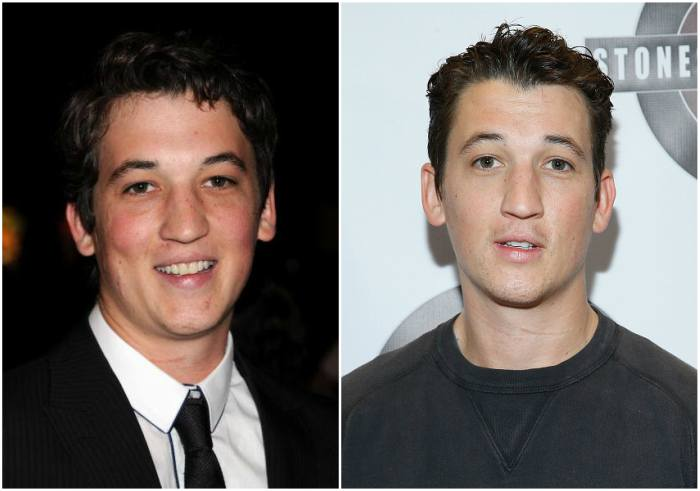 Miles Teller`s eyes and hair color