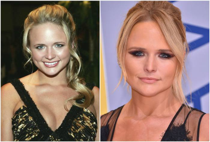 Miranda Lambert`s eyes and hair color