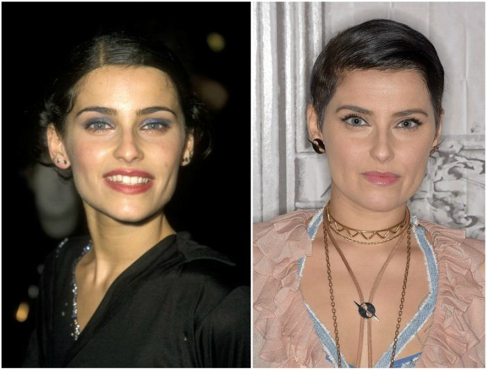 Nelly Furtado's eyes and hair color