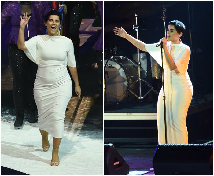 Nelly Furtado's height, weight. Unexpected body changes