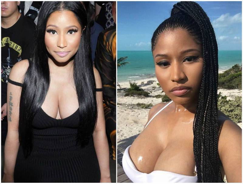 Nicki minaj boobs