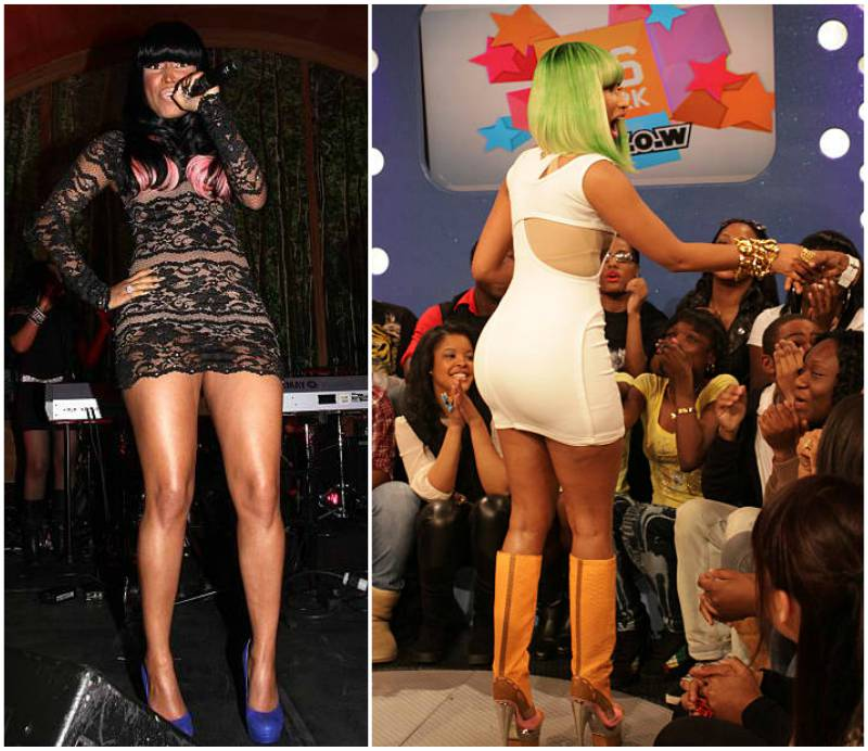 Nicki Minaj's height, weight and body measurements