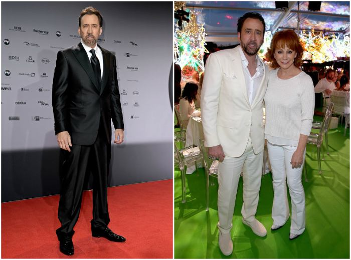 Nicolas Cage's height, weight and body measurements
