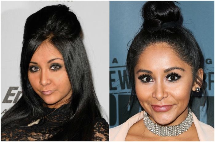 Nicole Polizzi's eyes and hair color
