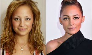 Nicole Richie's eyes and hair color