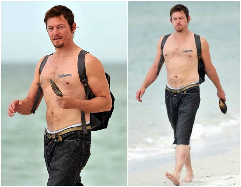 Norman Reedus' height, weight and body measurements