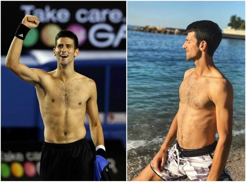 Novak Djokovic S Height Weight Perfect Body Shape