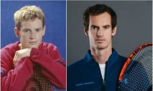 Andy Murray's eyes and hair color