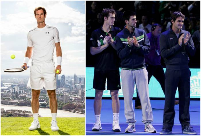Andy Murray's height, weight and body measurements
