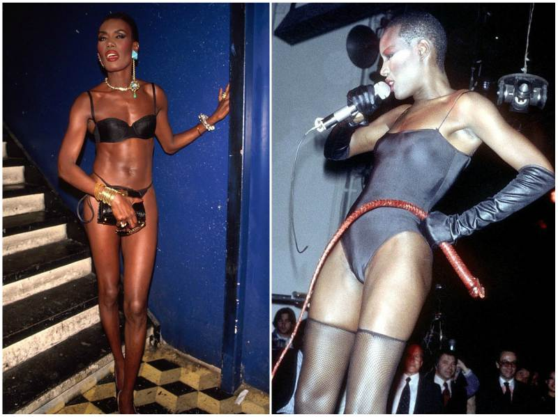 Grace Jones' height, weight and body measurements