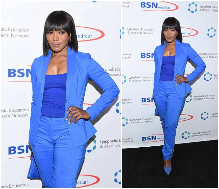 Angela Bassett's height, weight and body measurements