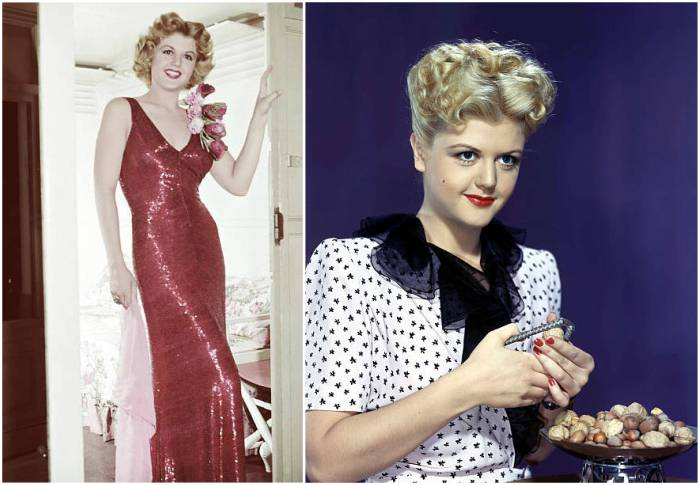 Angela Lansbury's height, weight and body measurements