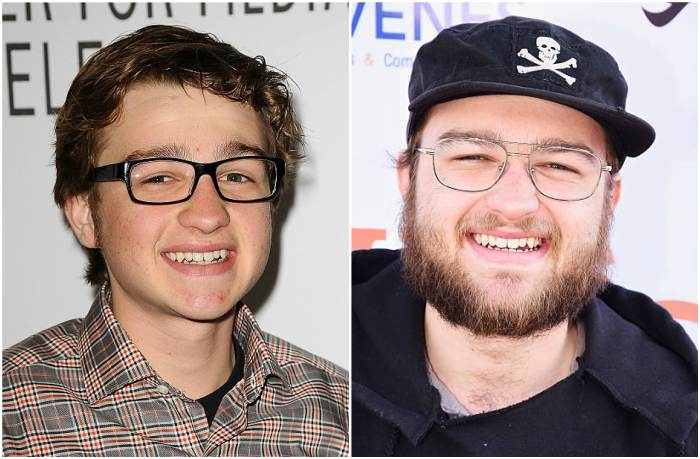 Angus T. Jones' eyes and hair color