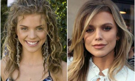 AnnaLynne McCord's eyes and hair color