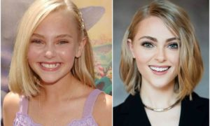 AnnaSophia Robb's eyes and hair color