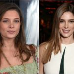 Cute vampire Ashley Greene has slim body