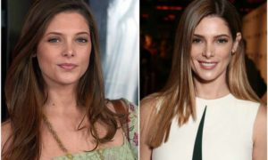 Ashley Greene's eyes and hair color