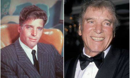 Burt Lancaster's eyes and hair color