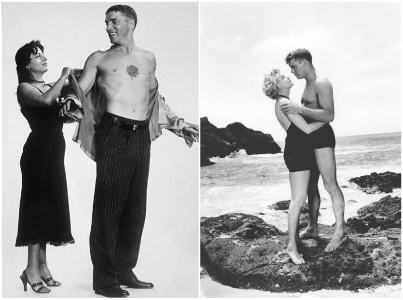 Burt Lancaster's height, weight and age