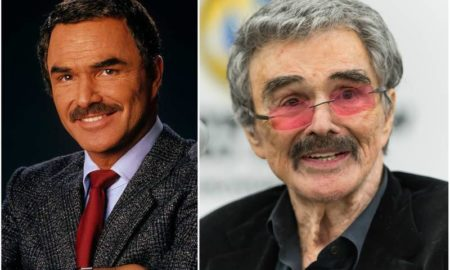 Burt Reynolds' eyes and hair color
