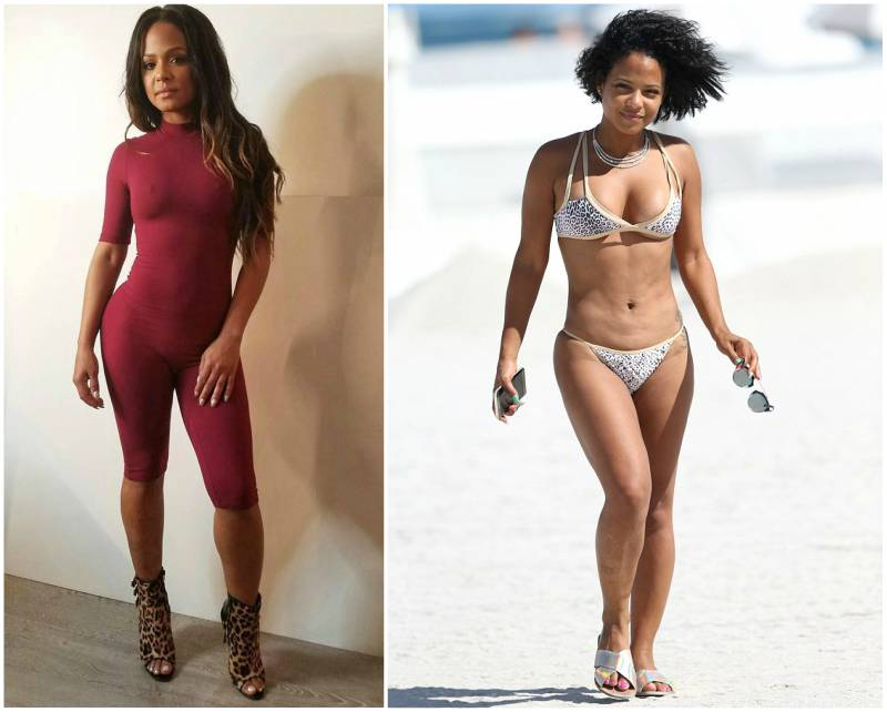 Christina Milian's height, weight and body measurements