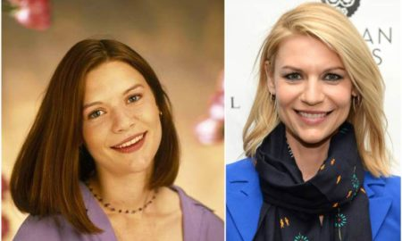 Claire Danes' eyes and hair color