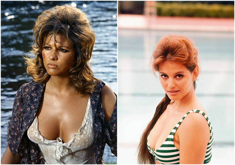 Claudia Cardinale's height, weight and body measurements