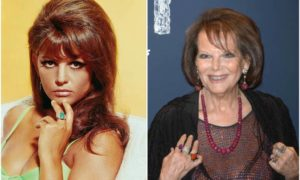 Claudia Cardinale's eyes and hair color