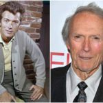 Thought aged, but slim and strong Clint Eastwood