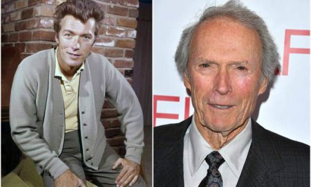 Clint Eastwood's eyes and hair color