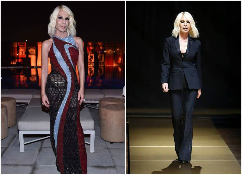 Donatella Versace's height, weight and age
