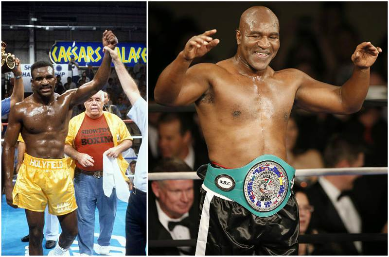 Evander Holyfield's height, weight and age