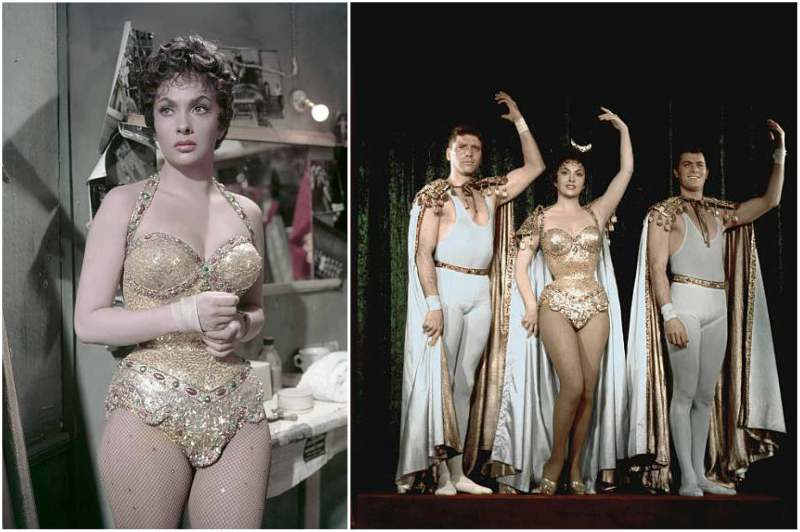 Gina Lollobrigida's height, weight and body measurements