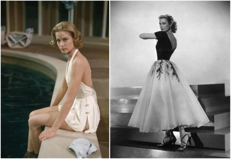 Grace Kelly's height, weight and body measurements