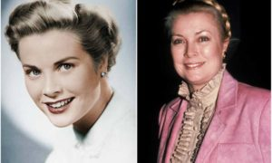 Grace Kelly's eyes and hair color