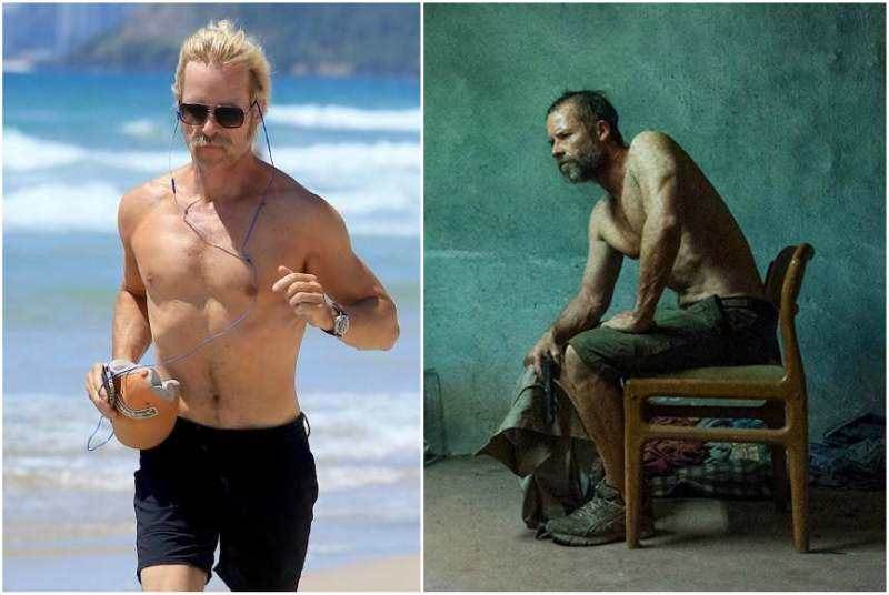 Guy Pearce's height, weight and body measurements