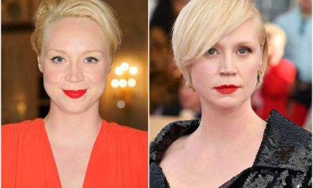 Gwendoline Christie's eyes and hair color