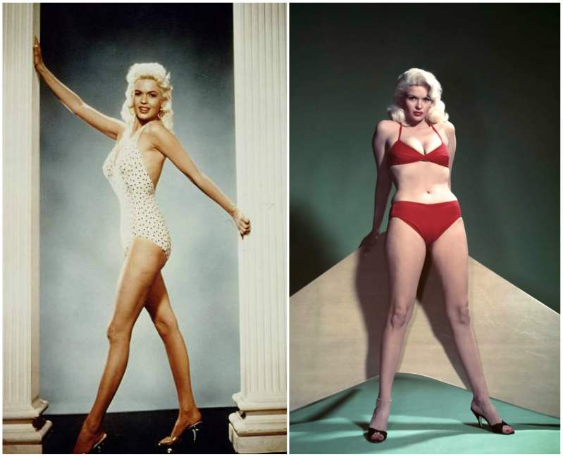 Jayne Mansfield's height, weight and body measurements