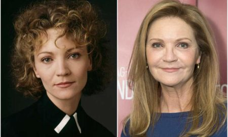 Joan Allen's eyes and hair color