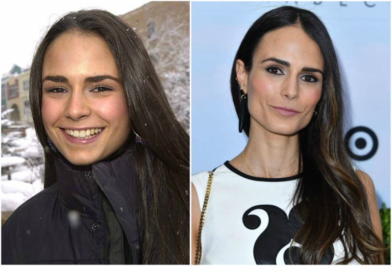 Jordana Brewster's eyes and hair color
