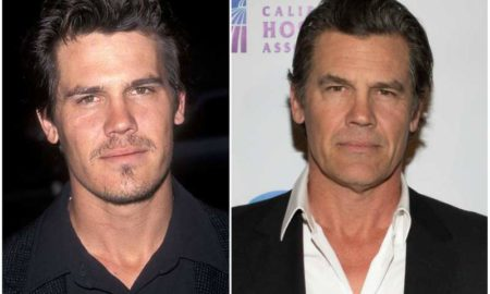 Josh Brolin's eyes and hair color