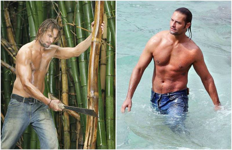 Josh Holloway's height, weight and body measurements