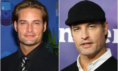Josh Holloway's eyes and hair color