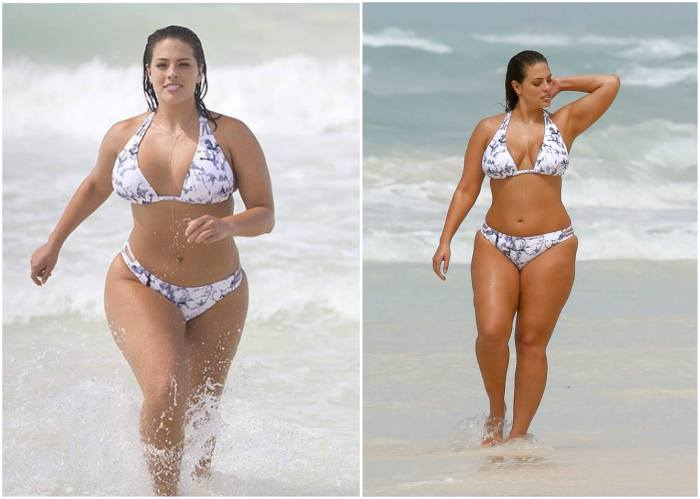 Ashley Graham's height, weight and body measurements