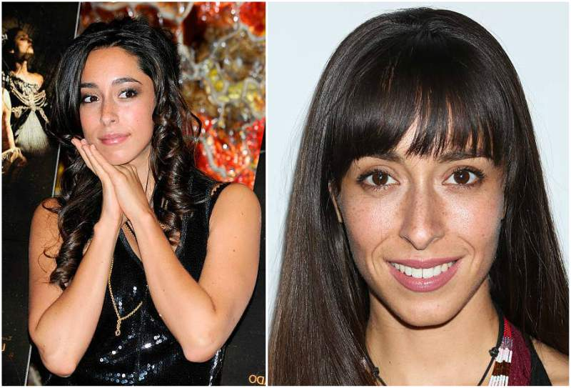 Oona Chaplin's eyes and hair color