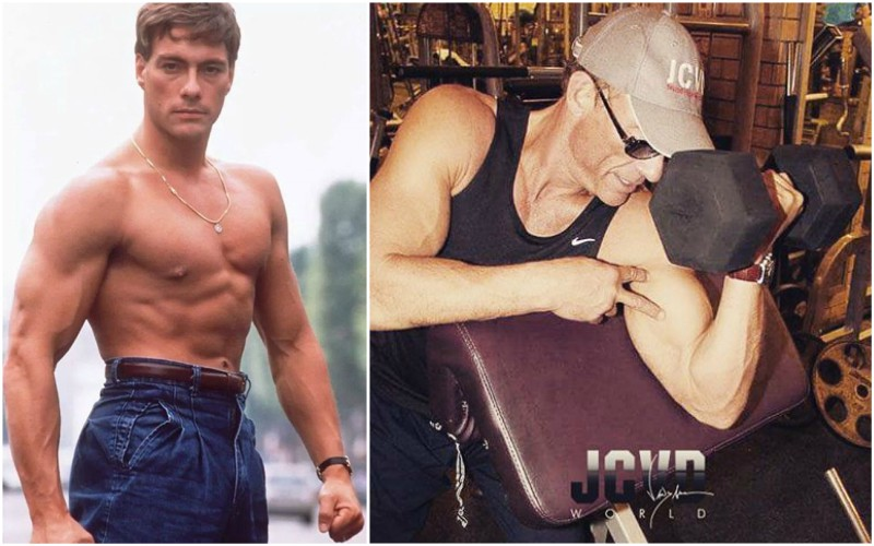 Jean-Claude Van Damme's height, weight and age