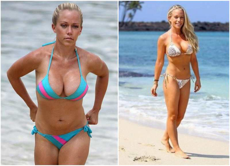 Kendra Wilkinson's height, weight and body measurements