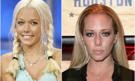Kendra Wilkinson's eyes and hair color